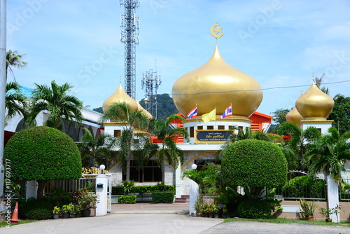 "Nurut Diniya Mosque in Phuket Thailand"" Stock photo and royalty-free"