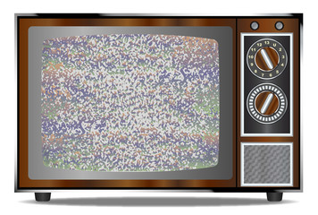 Old Television Static