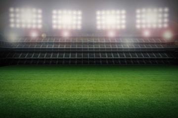 stadium with soccer field
