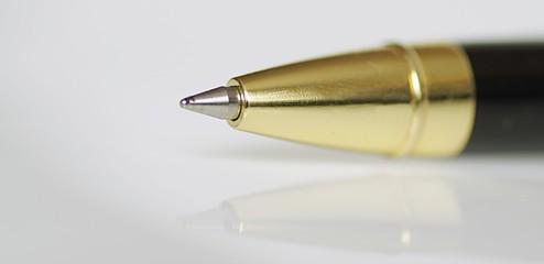Hochwertiger Kugelschreiber Close-up