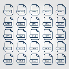 File document icon for apps and websites