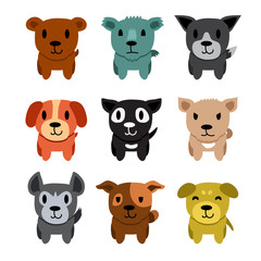 Cartoon character dogs