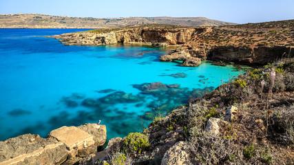 Blaue Lagune auf Malta