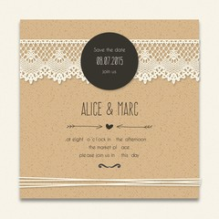 Search photos by freepik cardboard wedding invitation with lacy decoration stopboris Images