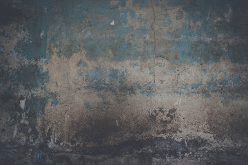 Grunge wall background with weathered paint