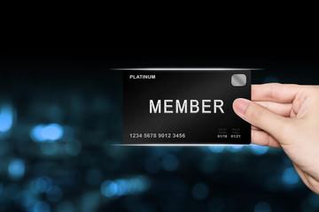 hand picking member platinum card