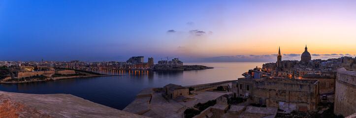 Foto op Canvas Wenen Fort Manoel Panorama