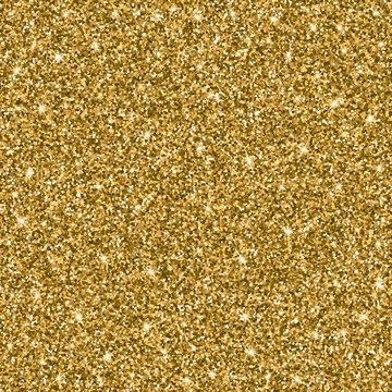 Gold glitter bright vector