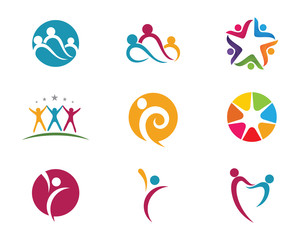 Health people success life logo