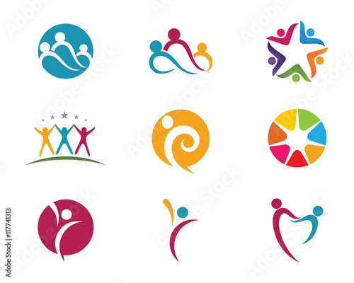 """""""Health people success life logo"""" Stock image and royalty-free vector files on Fotolia.com - Pic ..."""