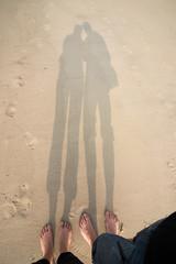 Füße im Sand, Urlaub an der Nordsee