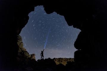 mağaradan yıldızları izlemek & takım yıldızları