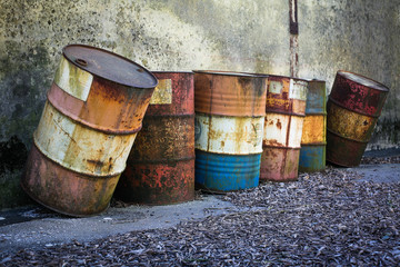 rusty barrels