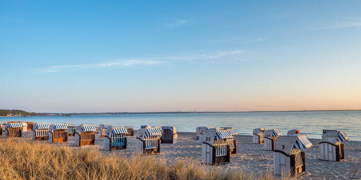 Strandkörbe, Timmendorfer Strand, Ostsee