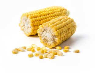 Corn on the cob kernels