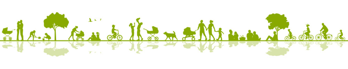 SIlhouette Familien
