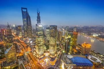 Beautiful Shanghai Pudong