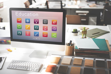 Education Application Knowledge Development Concept