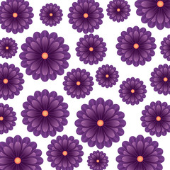 flower floral pattern nature icon