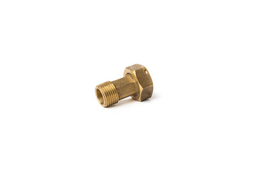 Brass nut counter water