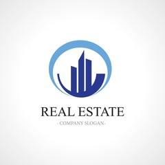 real estate circle logo