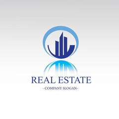round real estate logo