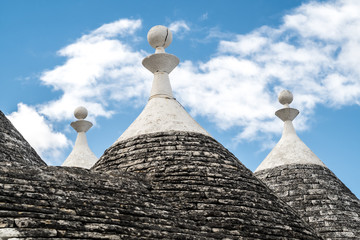 Akberobello, the city of Trulli, stone houses