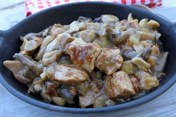 sauté de porc sauce champignons 09082016