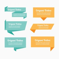 Origami textbox pack