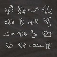Origami animals pack