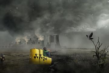 nukleare Gefahr