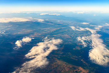 Earth Photo From 10.000m (32.000 feet) Above Ground