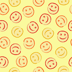 Happy face pattern