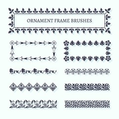 Ornament Frame Brushes