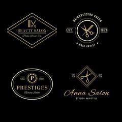 elegant Hair salon Logos