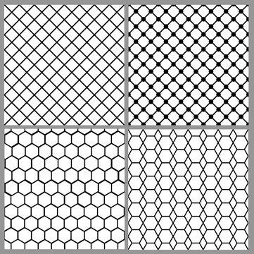 seamless net patterns