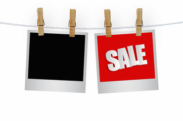 Sale paper label