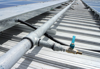 Water Tap Solar PV Rooftop