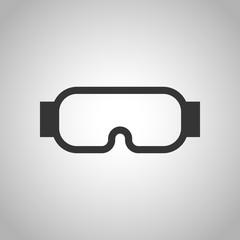 protective glasses icon