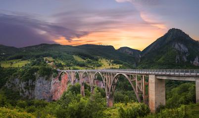 Bridge Dzhurdzhevicha. Montenegro