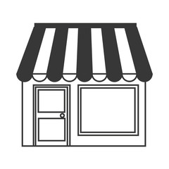 Shopping and commerce isolated icon.