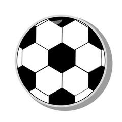 Soccer Ball sport, vector illustration.
