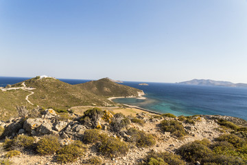 Patmos island Geranou cape, Greece
