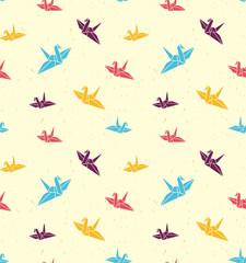 折り鶴、折り紙、鶴