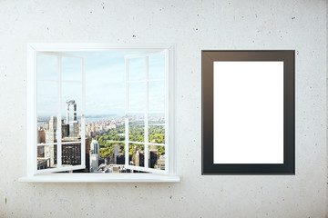 Window and picture frame