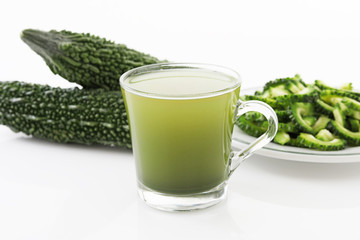 新鮮な野菜ジュース