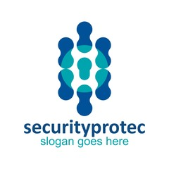 vector logo security for protection