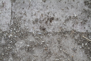 pebbles on concrete grunge texture