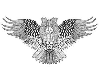 Eagle owl.