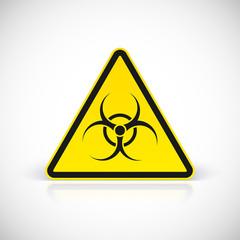 Biohazard symbol sign.